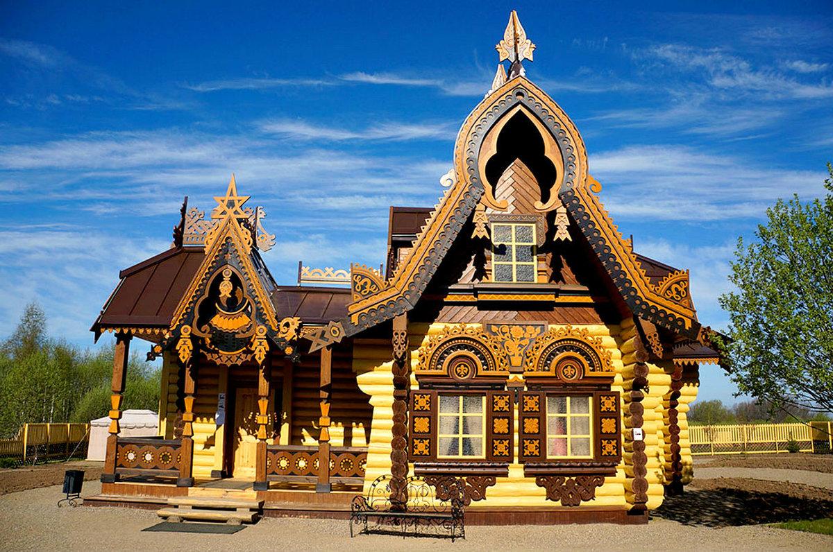 фото русских домов из дерева известен своим
