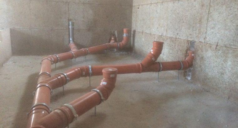 Установка и настройка отопления, водоснабжения